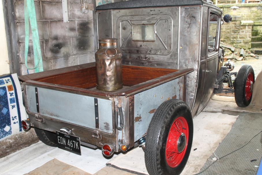 Irish Street Rods • View topic - 32 Ford Pickup Build