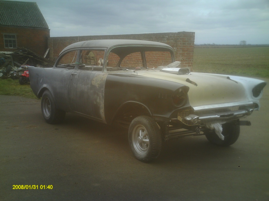 57 Chevy Gasser For Sale http://www.rodsnsods.co.uk/forum/vehicles-sale/57-chevy-gasser-75679