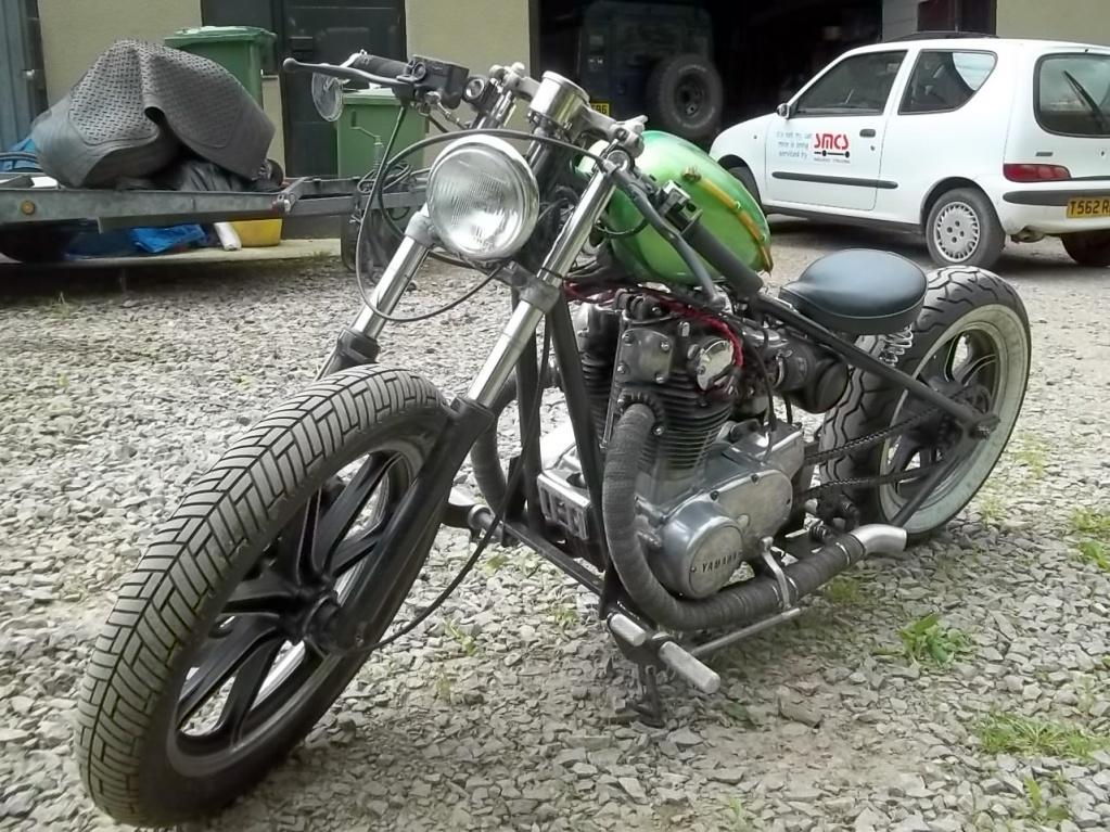 XS650 Hardtail Bobber