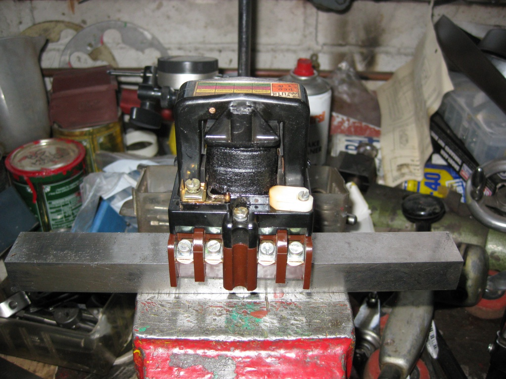 burnt out contactor