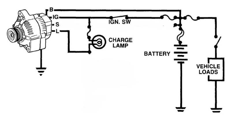 alternator wiring diagram uk alternator image alternator wiring on alternator wiring diagram uk
