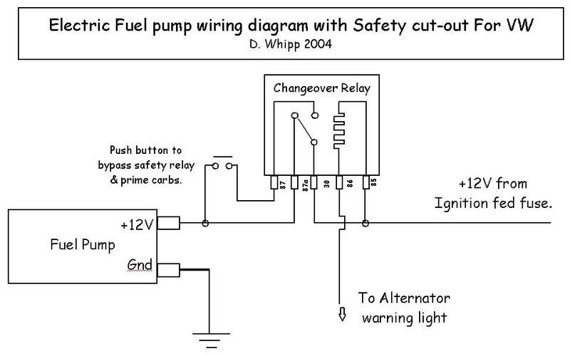 wiring diagram for an electric fuel pump and relay wiring electric fuel pump wiring on wiring diagram for an electric fuel pump and relay